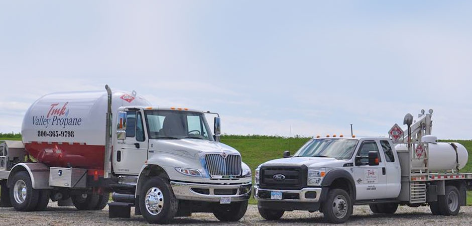 TMK Valley Propane trucks